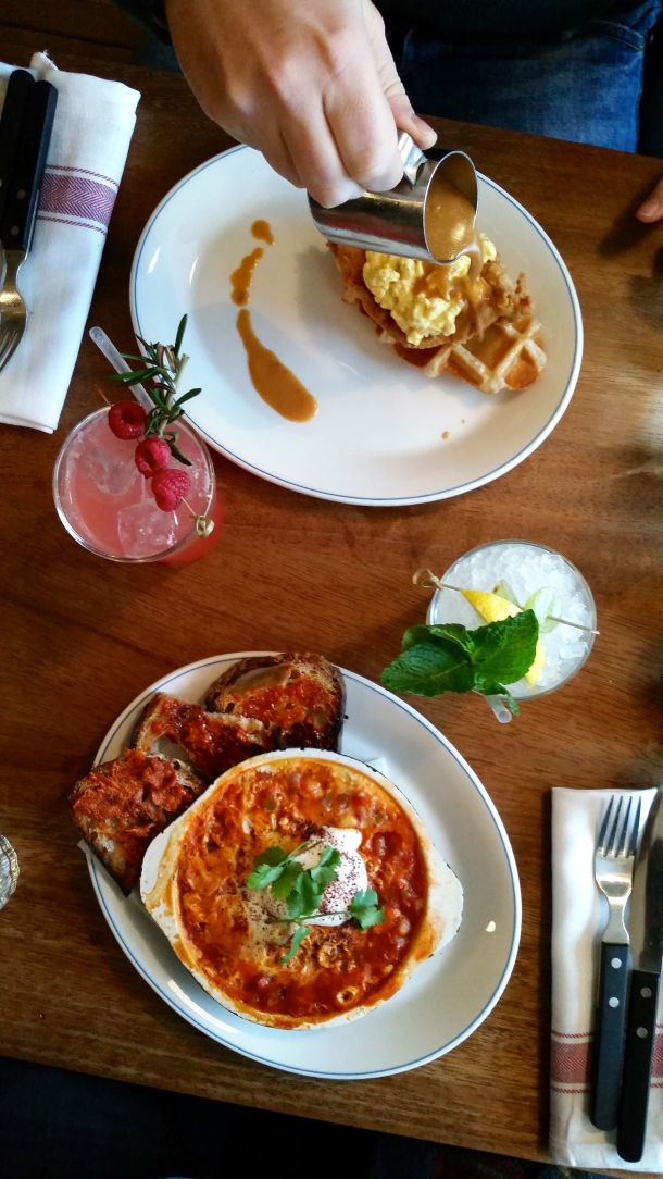 Call Me Katie - celebrating two years of marriage with a boozy brunch at Foxlow in Clerkenwell, London - 6
