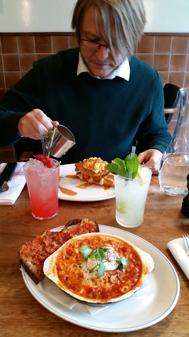 Call Me Katie - celebrating two years of marriage with a boozy brunch at Foxlow in Clerkenwell, London - 7