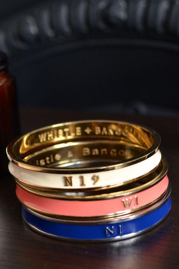 Call Me Katie - Whistle & Bango bracelets in N1, W1 and bespoke N19 - 09