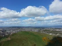 Katie Poole - Edinburgh - view from Arthur's Seat