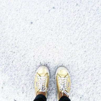 Katie Poole - first snow of the 15-16 season Boston