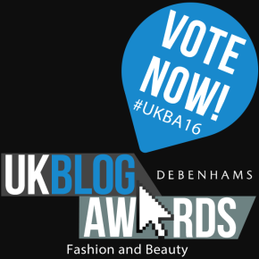 Vote for me in the UK Blog Awards2016