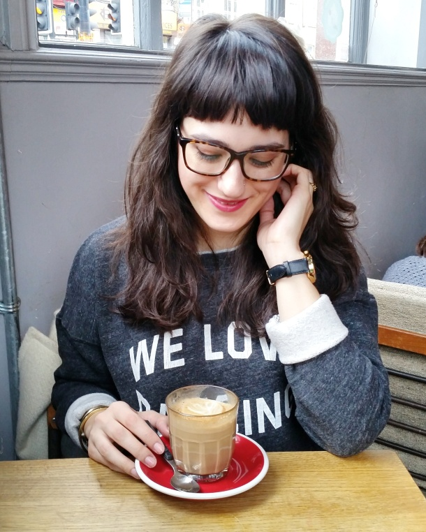 Call Me Katie blog - Sunday brunch and What I Wore at Spoke Cafe in Islington North London - 1