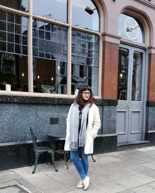 Call Me Katie blog - Sunday brunch and What I Wore at Spoke Cafe in Islington North London - 8