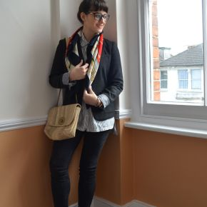 What I Wore: styling a blazer without looking 'corporate'