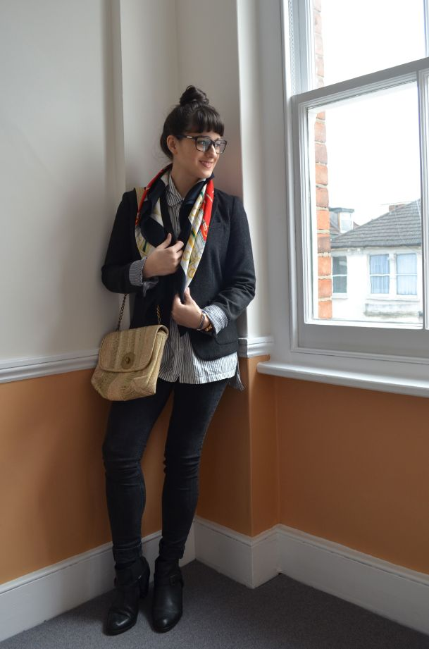 Call Me Katie - how to wear a blazer for spring that works for day to night - 01