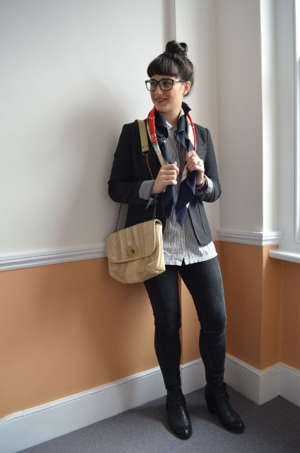 Call Me Katie - how to wear a blazer for spring that works for day to night - 05