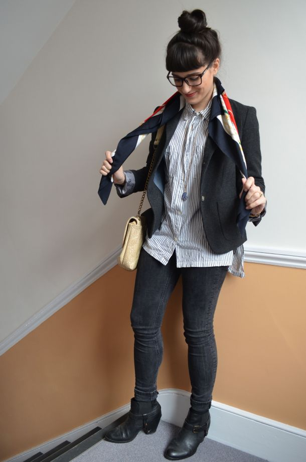 Call Me Katie - how to wear a blazer for spring that works for day to night - 08