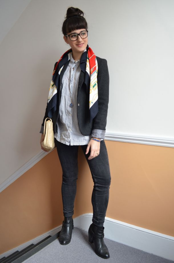 Call Me Katie - how to wear a blazer for spring that works for day to night - 09