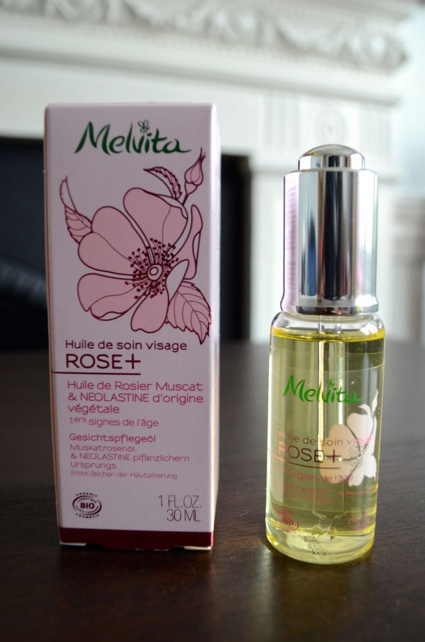 Call Me Katie - new Melvita Rose+ Light Face Care Oil review - 2