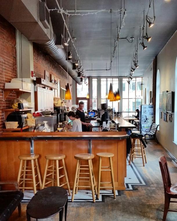 Call Me Katie - Arabica Coffee House in Portland Maine 1