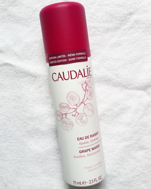 Call Me Katie - beauty review of Caudalie Vinosource Grape Water, Moisturizing Fluid for combination skin and Moisturizing Sorbet for sensitive skin 4
