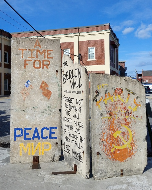Call Me Katie - Berlin Wall in Portland Maine