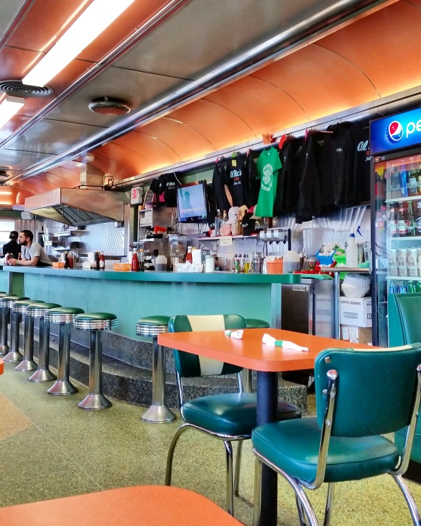Call Me Katie - breakfast at Almac's Diner in Fall River Massachusetts 2