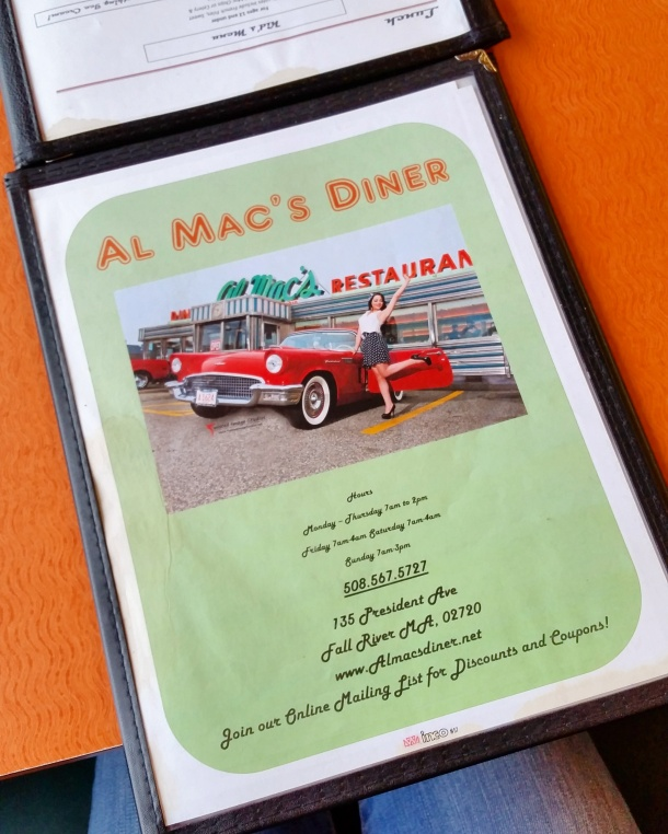 Call Me Katie - breakfast at Almac's Diner in Fall River Massachusetts 8