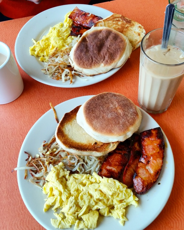 Call Me Katie - breakfast at Almac's Diner in Fall River Massachusetts
