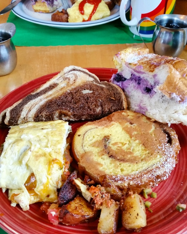 Call Me Katie - breakfast at Cindy's Diner in Porstsmouth Rhode Island 2
