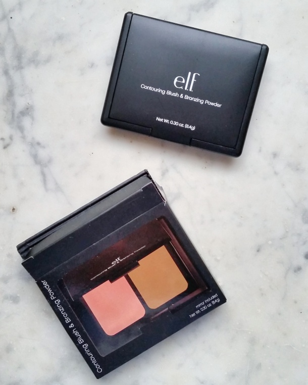 Call Me Katie - elf studio contouring blush and bronzing powder from CVS, outside the packaging
