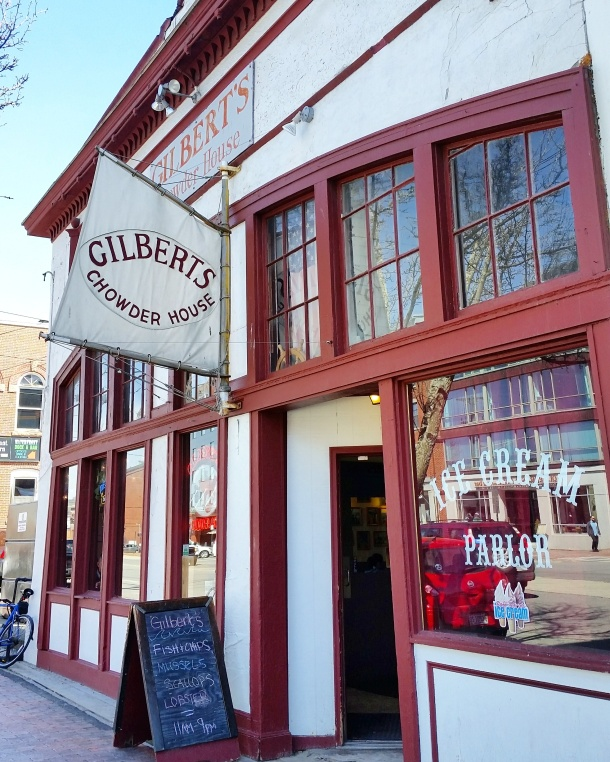 Call me Katie - Gilberts Chowder House Portland Maine 1