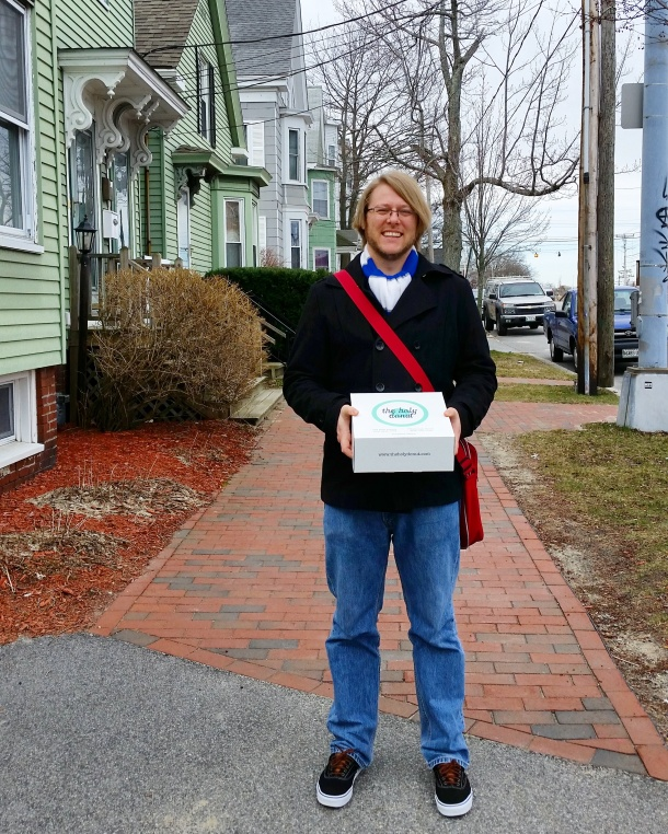 Call Me Katie - Holy Donuts in Portland Maine 2
