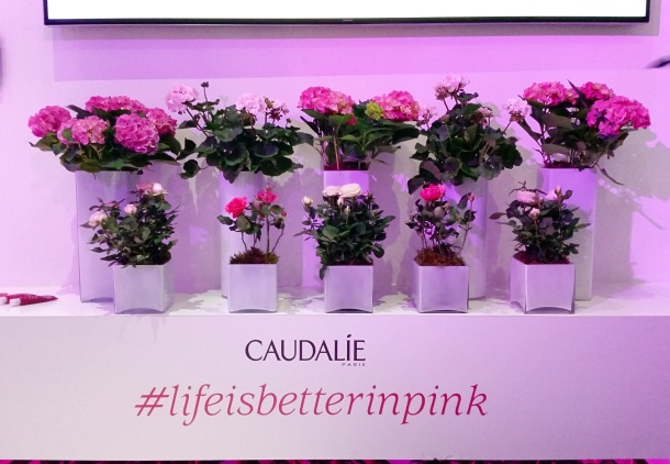 Call Me Katie - launch of new Caudalie Vinosource moisturising products 2