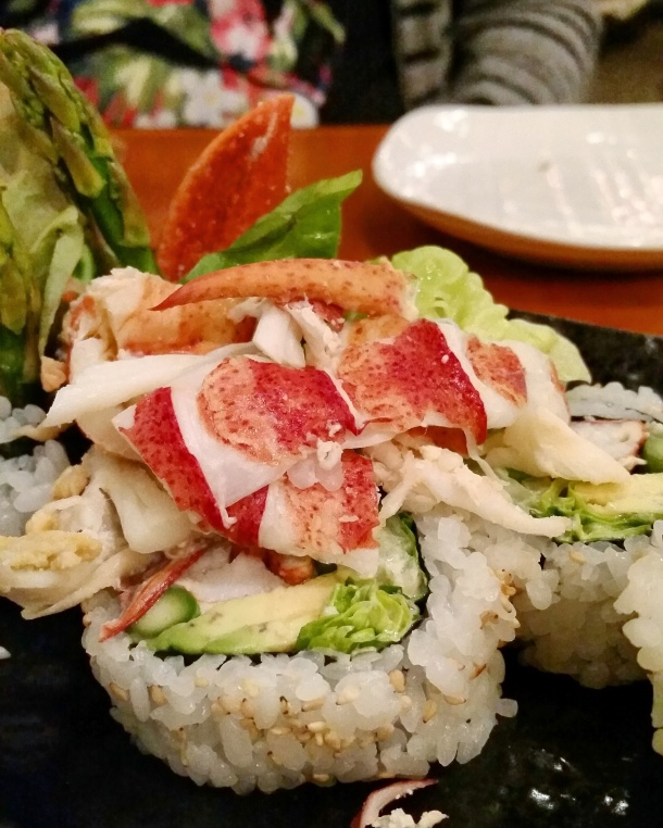 Call Me Katie - Lobster Sushi in Maine