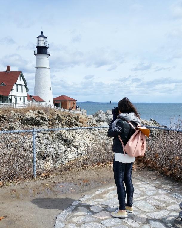 Call Me Katie - Portland Head Light near Portland Maine 2