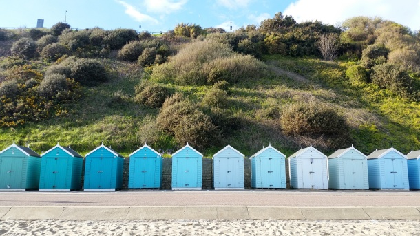 Call Me Katie - Bournemouth - Blue Beach Huts, landscape