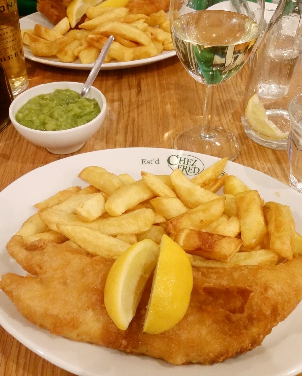 Call Me Katie - Bournemouth - Chez Fred Fish and Chips
