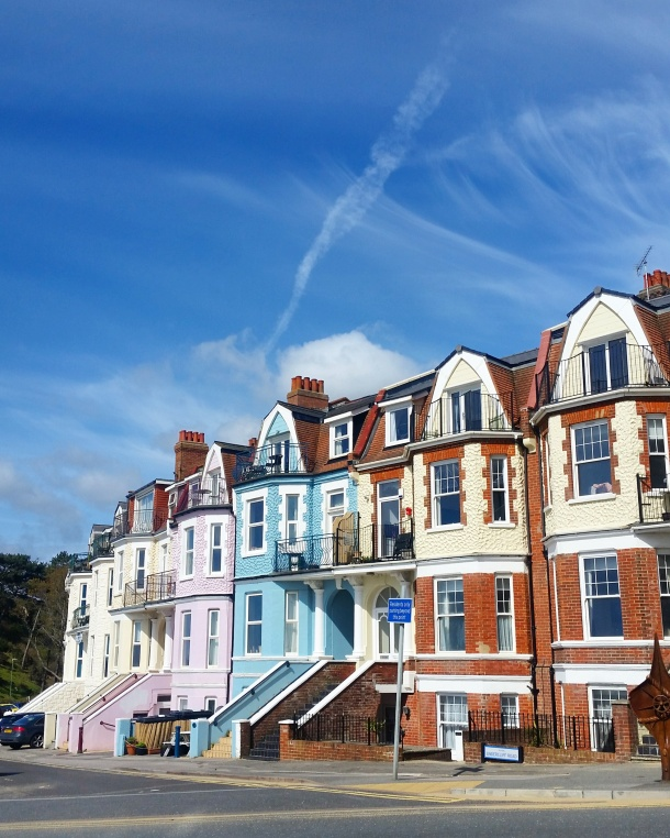 Call Me Katie - Bournemouth - Colourful houses in Bournemouth