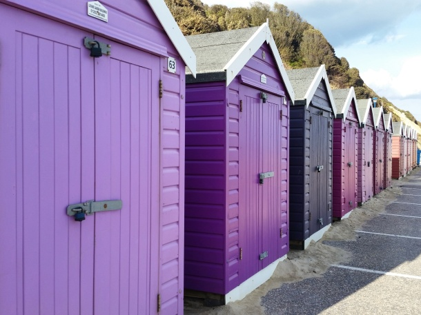 Call Me Katie - Bournemouth - Purple Beach Huts 2