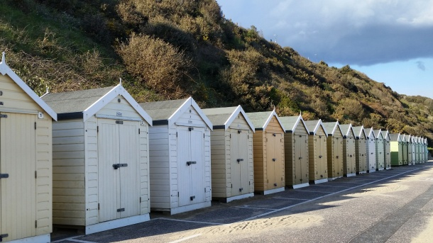 Call Me Katie - Bournemouth - Tan Beach Huts
