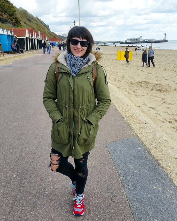 Call Me Katie - Bournemouth - What I Wore for a walk along the beach