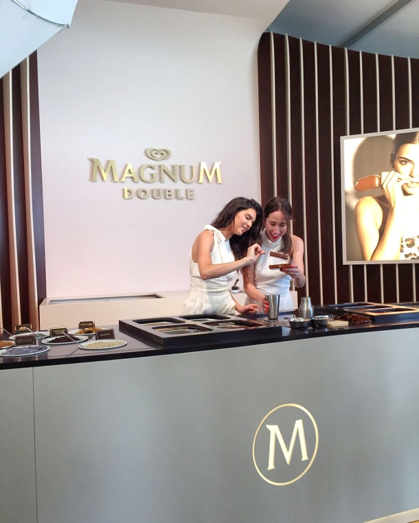Call Me Katie - Magnum Cannes - dipping Magnums with Kendall Jenner 2