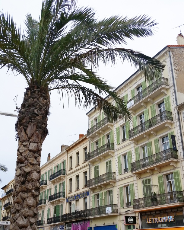 Call Me Katie - Magnum Cannes - palm trees and architecture
