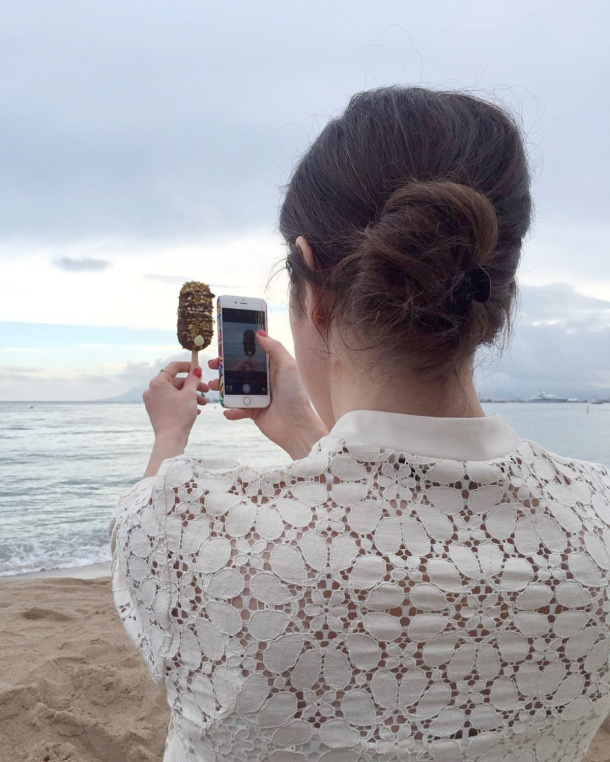 Call Me Katie - Magnum Cannes - taking photos of Magnums