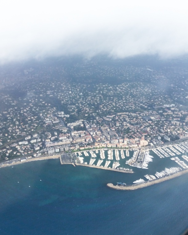 Call Me Katie - Magnum Cannes - view from the plane