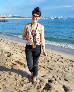 Work life: working the Magnum Beach Party inCannes