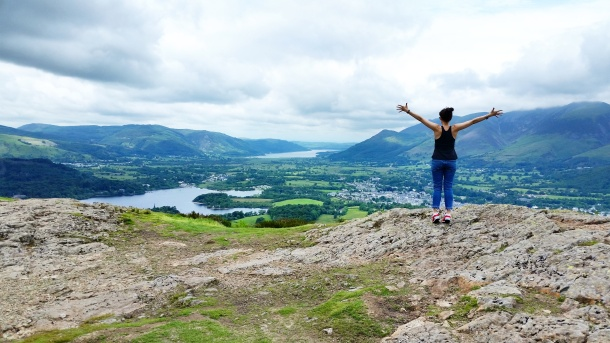 Call Me Katie - Lake District Day 2 at Walla Crag, Surprise View and Keswick in Cumbria 1