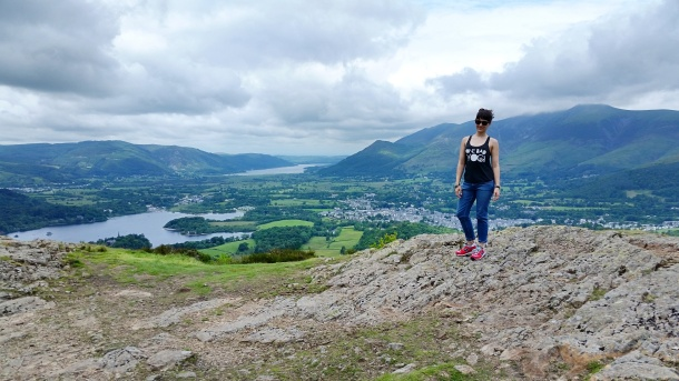 Call Me Katie - Lake District Day 2 at Walla Crag, Surprise View and Keswick in Cumbria 10