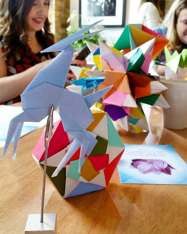 Call Me Katie - Viking Arty Party origami workshop 4
