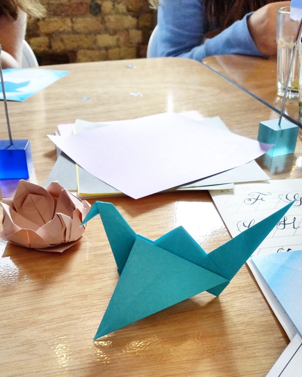 Call Me Katie - Viking Arty Party origami workshop 6