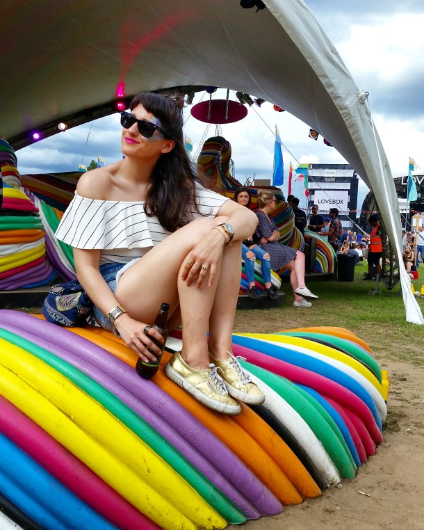 Call Me Katie - What I Wore to Lovebox in London - Festival Style 1
