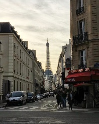 Call Me Katie - Instagramable Spots in Paris - Eiffel Tower viewed through the streets