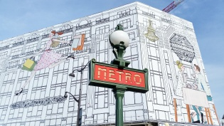 Call Me Katie - Instagramable Spots in Paris - Metro sign near Samaritaine