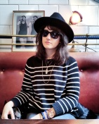 Call Me Katie - What I Wore In Paris - Zara Fedora Suncoo Striped Sweater Whistle and Bango Bangle 1