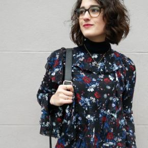 What I wore: layering with turtlenecks