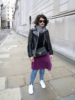 What I wore: styling a cami dress two ways inwinter