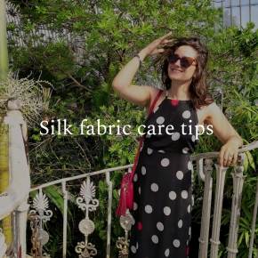 Silk fabric care tips