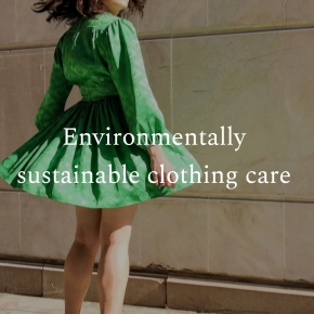 Environmentally sustainable clothing care